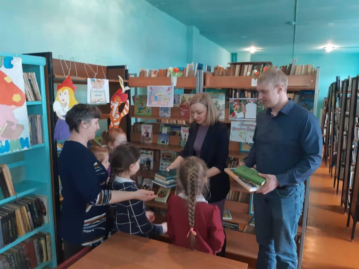 Новые книги подарили библиотекам Облученского района ЕАО